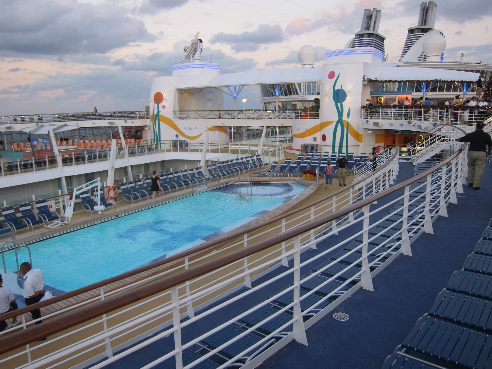 Allure Of The Seas Pool On Deck 2