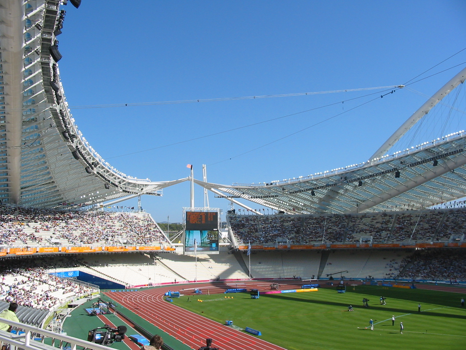 Image result for Athens Olympic Stadium in Athens, Greece