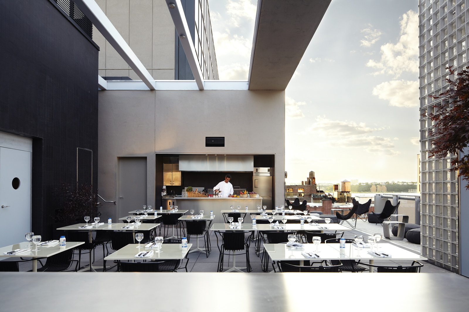 Best new hotel new york usa the americano hotel bar for Hotel americano nyc