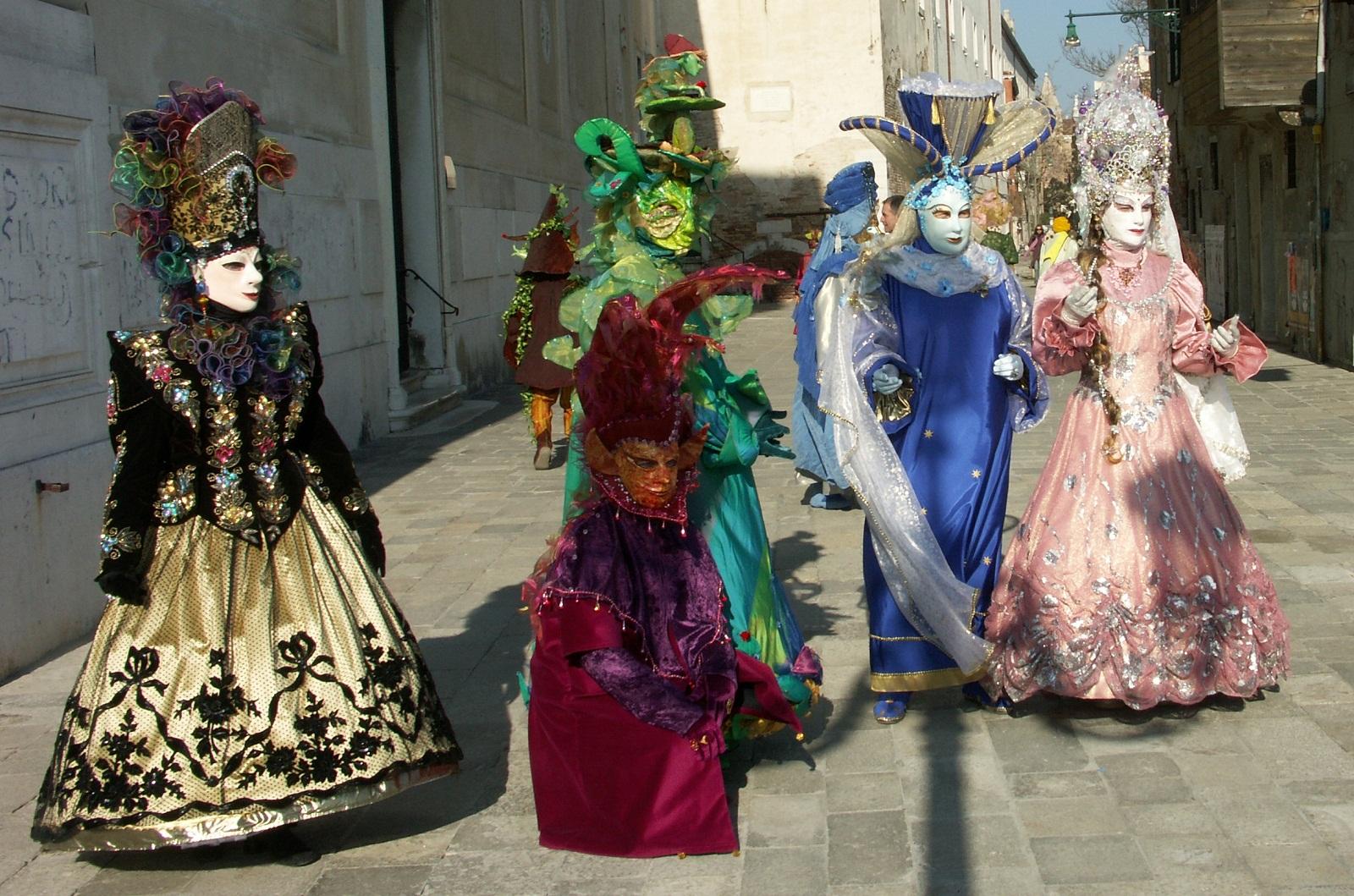 Carnival in Venice, Venice, Italy, Masks 06