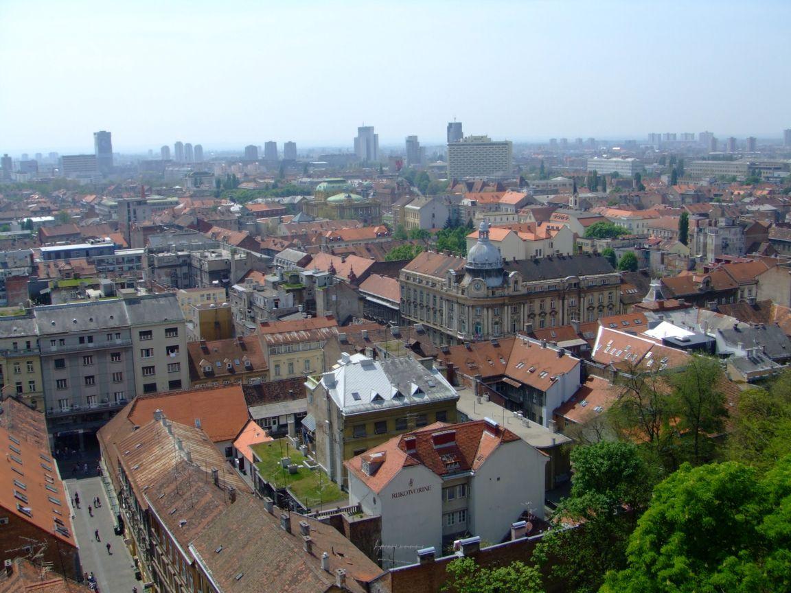 Zagreb Croatia  city photo : Croatia Holiday, Zagreb, Croatia, City view from Lotrscak Tower