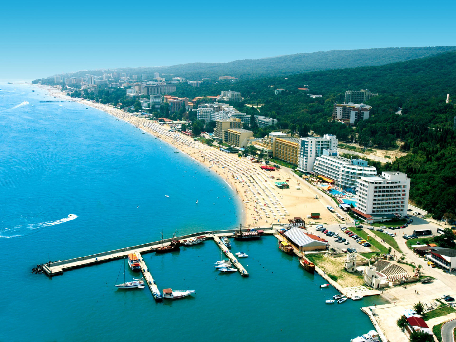 Golden Sands, Bulgaria, City overview
