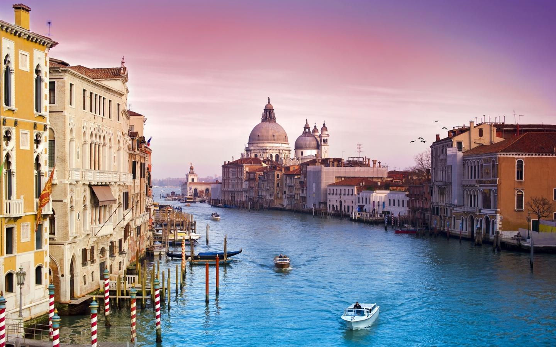 Italy holiday venice italy city view by day