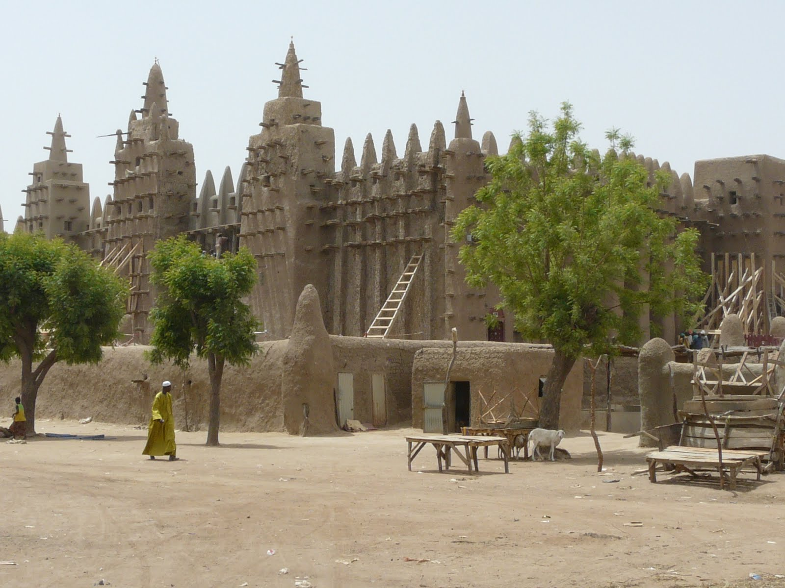 Galerry Mali Africa The Great Mosque In Djenne Overview Pictures to pin on