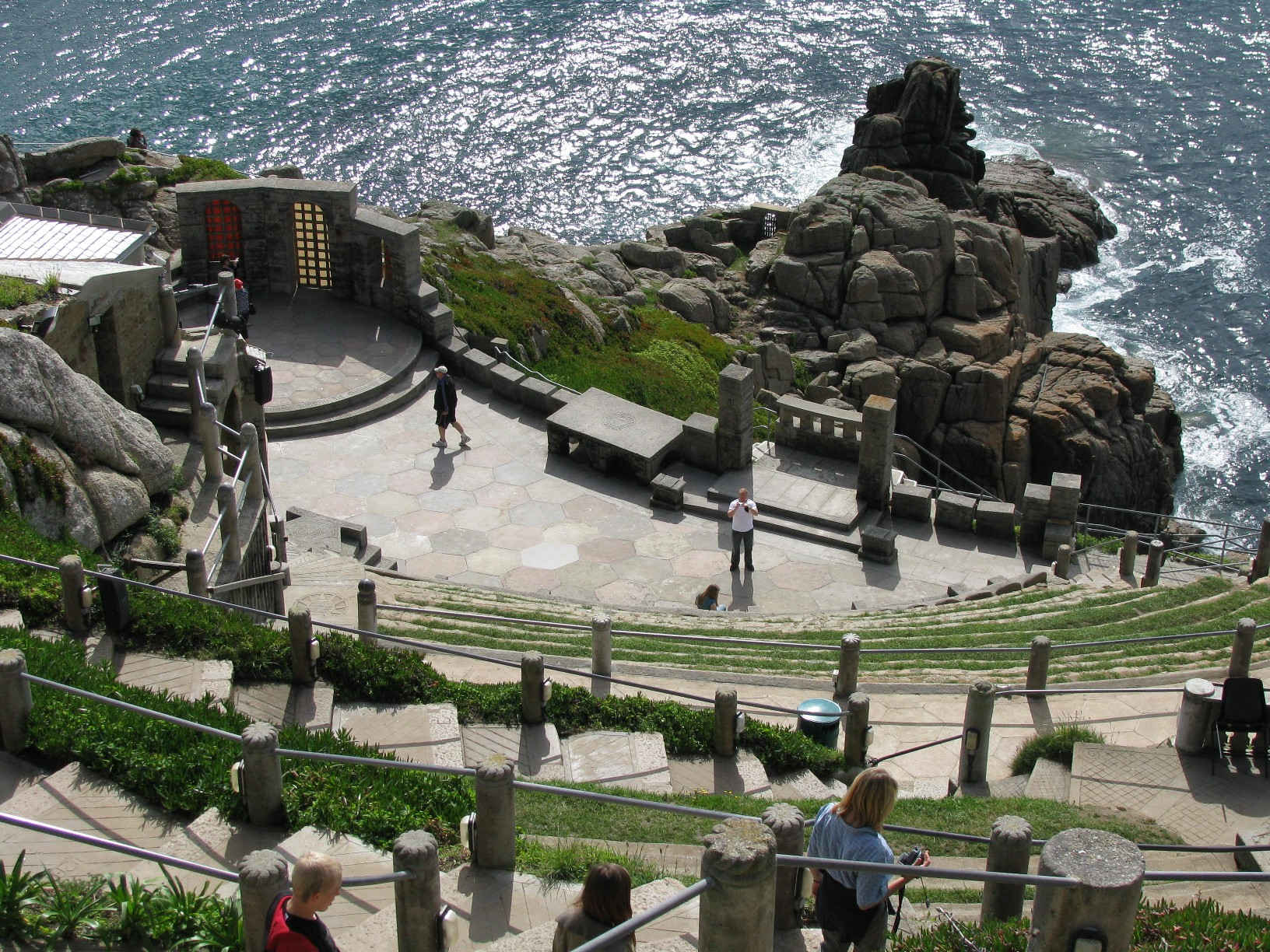 Coolest Theatre, Cornwall, England, Minack Theatre visiting day