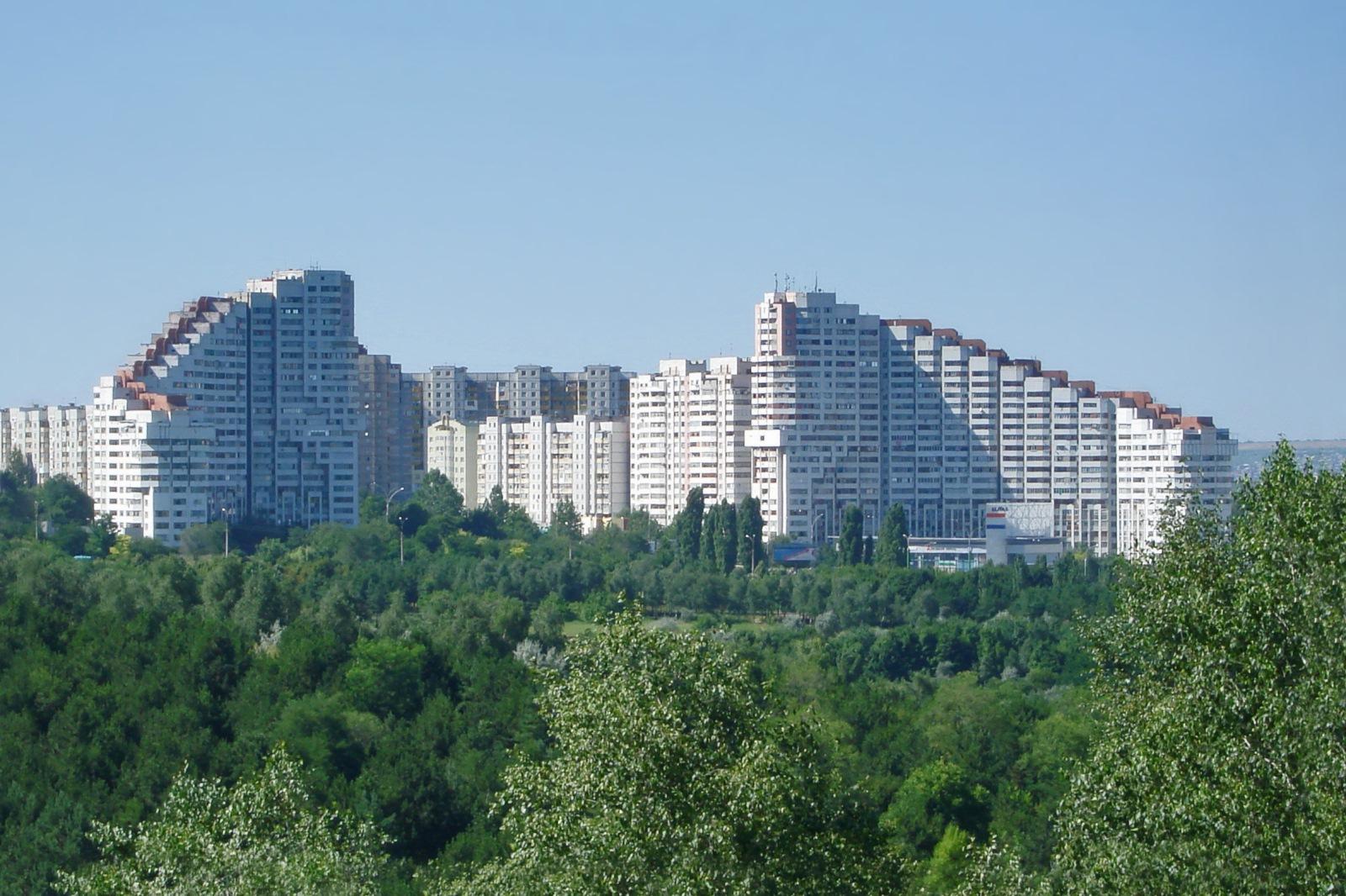 Moldova, Europe, Gates of Chisinau city