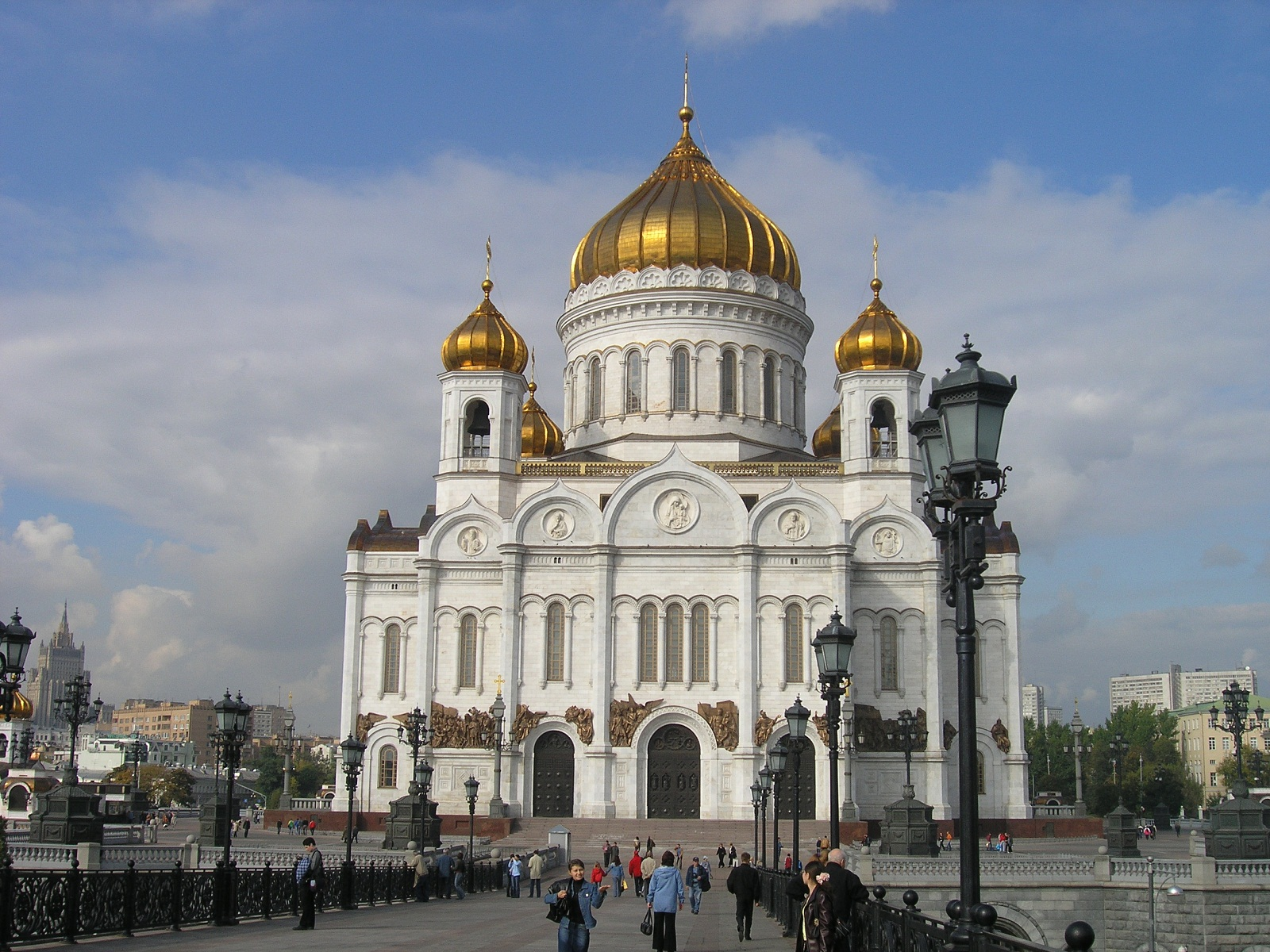 Moscow, Russia, Cathedral of Christ the Saviour