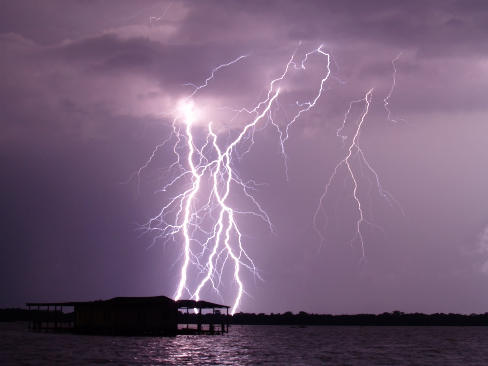 Natural Phenomenon, The Catatumbo Lightning, Venezuela, Night view