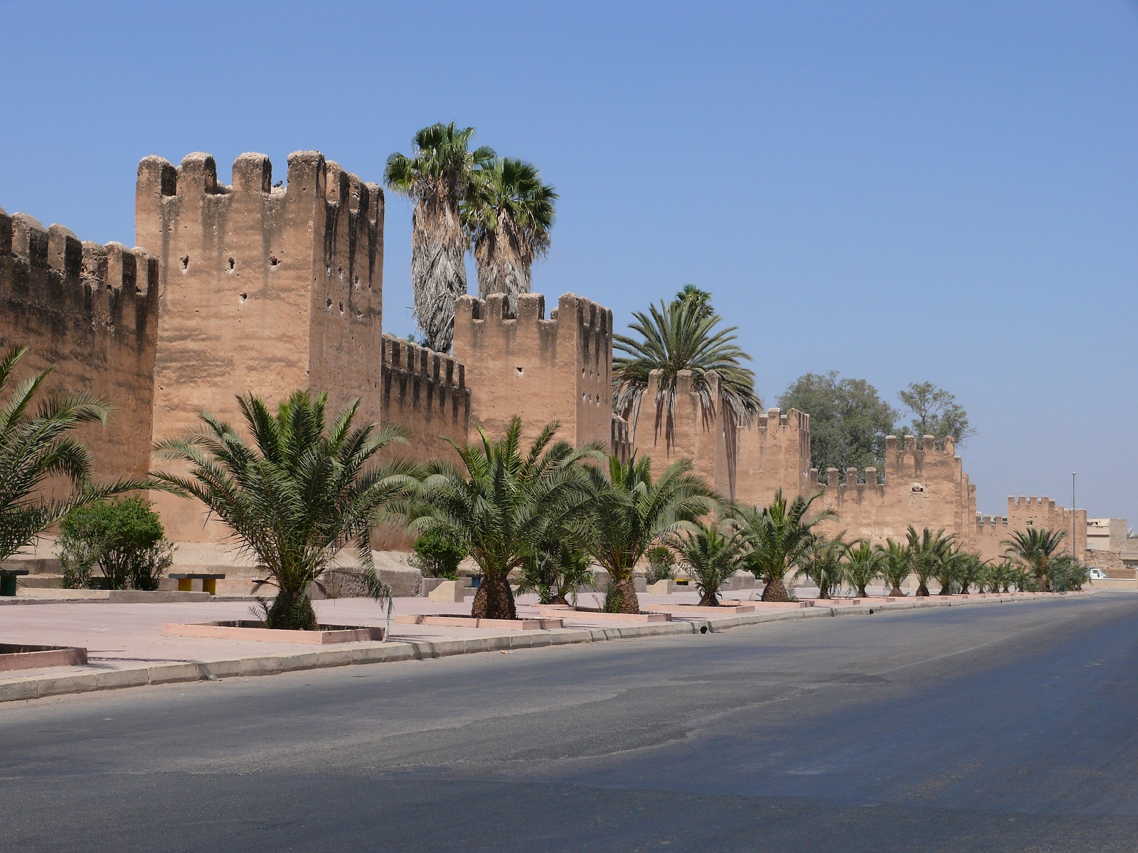 Old City Walls, Taroudant, Morocco, Towers view