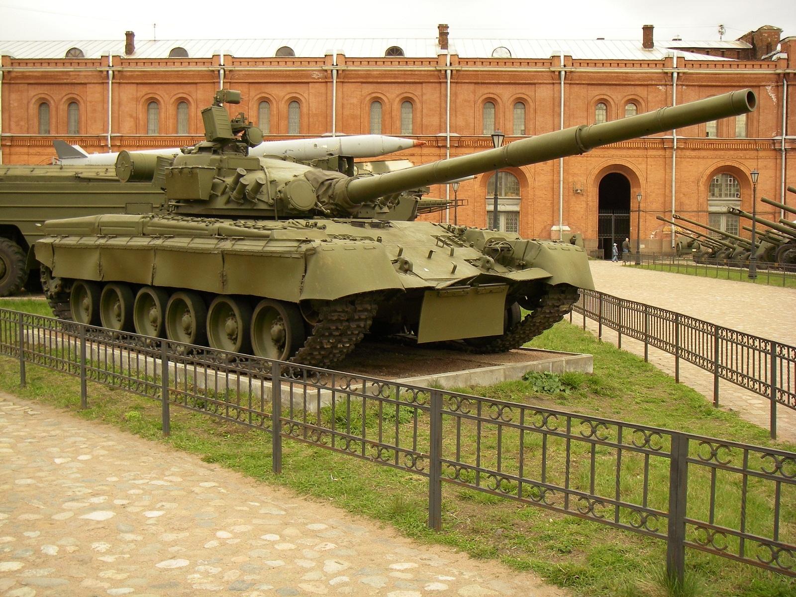 Saint petersburg russia t 80 tank