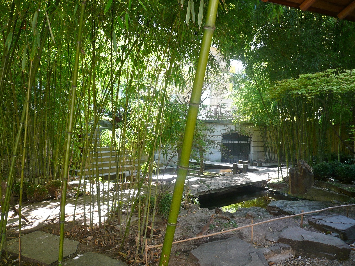 Secret garden paris france pantheon bouddhique bamboo garden - Les classiques du design ...