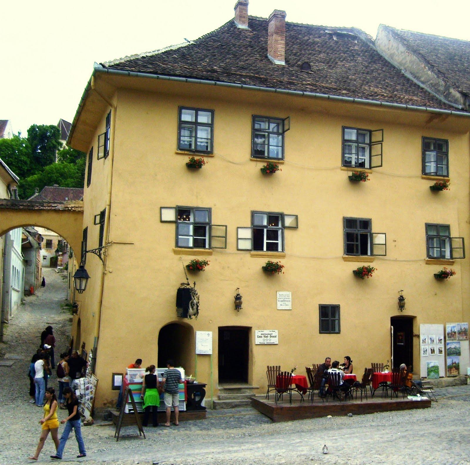 Casa Dracula Sighisoara Romania