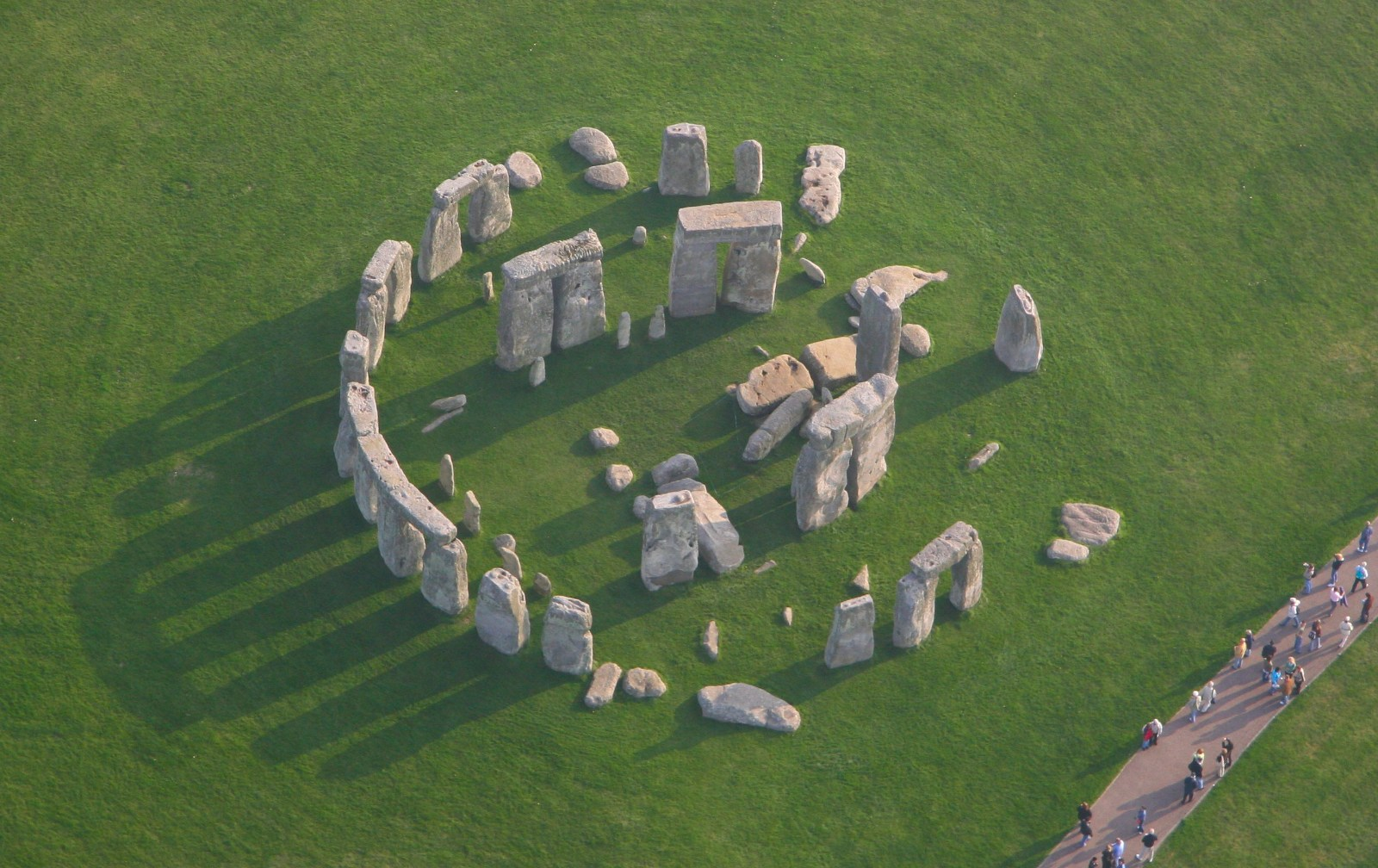 Stonehenge, United Kingdom, Aerial view