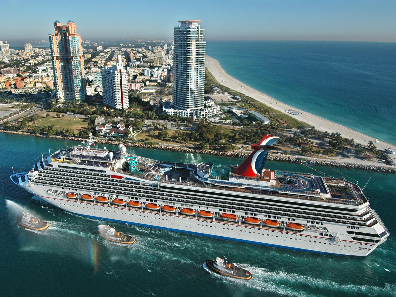 Superb Holiday Miami Florida USA Carnival Valor Cruise Ship