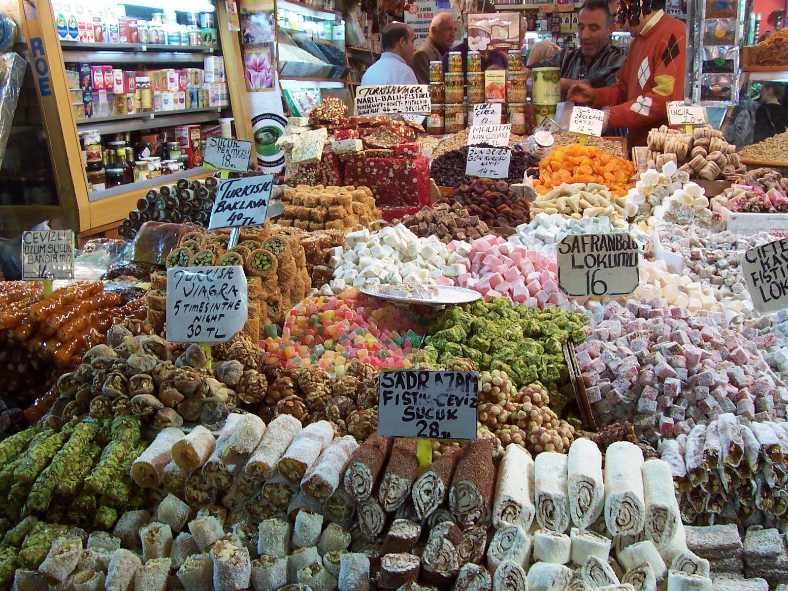 Sweetest Sights, Lokum Shop, Istanbul, Turkey, Merchandise ...