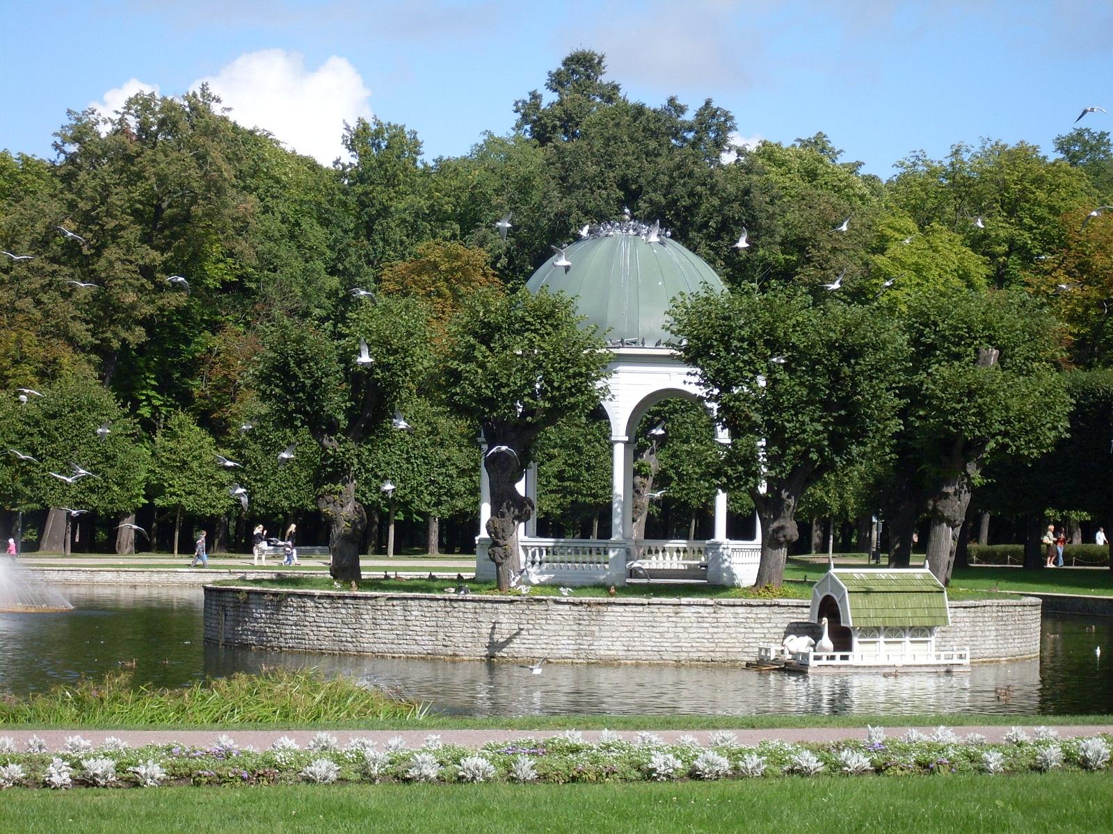 Tallinn, Estonia, Gazebo in Kadriorg park