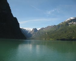 Norway, Europe, NordFjord overview