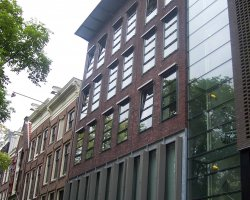 Anne Frank Museum, Amsterdam, Facade view