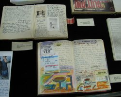 Anne Frank Museum, Amsterdam, Exhibits from her diary