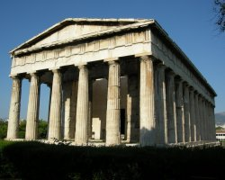Athens, Greece, Temple of Hephaestus