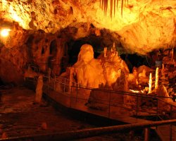 Bear Cave, Romania, Tourist access area