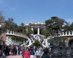 Best Cities, Barcelona, Spain, Park Guell entrance