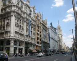 Best Cities, Madrid, Spain, Gran Via street view