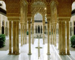 Best Cities, Granada, Spain, Court of the Lions Alhambra