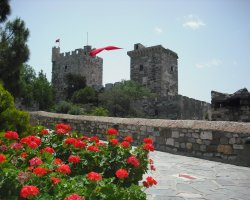 Bodrum, Turkey, Castle towers