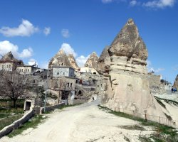 Cappadocia, Turkey, Europe, Town overview