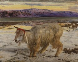 Cultural Holiday, London, UK, Tate Britain exhibition, William Holman Hunt The Scapegoat