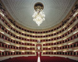 Cultural Holiday, Milan, Italy, La Scala Opera house interior