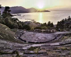 Discover Thassos II, Limenas, Greece, Antic Theatre 01