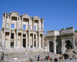 Ephesus, Turkey, Celsius Library ruins
