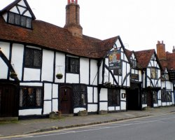 Famous Hotel, Buckinghamshire, United Kingdom, The Kings Arms Hotel, Exterior view
