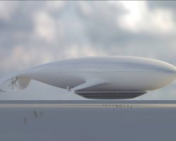 Manned Cloud, Paris, France, Concept