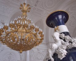 Hermitage Museum, St Petersburg, Russia, Vase and a candelabrum