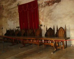 Unusual Holiday, Hunedoara, Romania, Hunyad Castle interior view