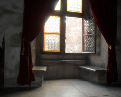 Unusual Holiday, Hunedoara, Romania, Hunyad Castle interior room