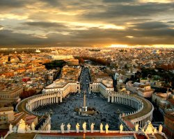 Italy Holiday, Rome, Italy, Saint Peter Square