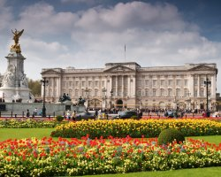 London Attraction Holiday, Buckingham Palace, London, United Kingdom, Exterior view