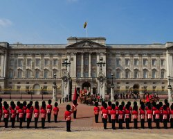 London Attraction Holiday, Buckingham Palace, London, United Kingdom, Palace front view