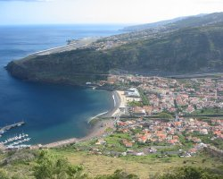 Madeira, Portugal, Machico and the nearby airport
