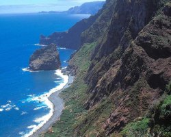 Madeira, Portugal, Sightseeing of the coast of the Island