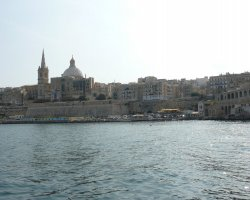 Malta, Europe, Marsamxett Harbour