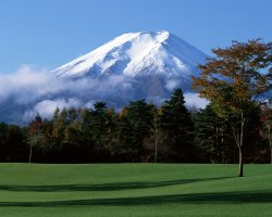 Mount Fuji, Japan, Closer view