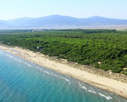 Paradise Destination, Grosseto, Italy, Seaside panoramic view