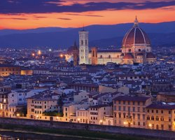 Paradise Destination, Florence, Italy, City panoramic view