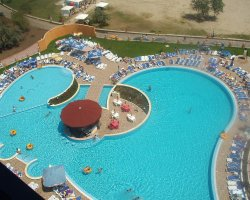 Saturn, Romania, Balada Hotel swiming pool