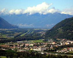Secret Destination Holiday, Ticino, Switzerland, City panorama